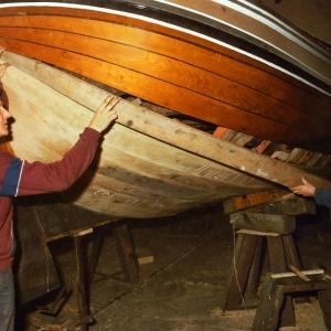1981 - 1982 Johannes van der Meulen en Henry van de Wal vervangen gangen bakboord achter