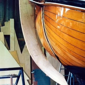1992-1993 Friso foto 2 Nieuwe stevenbalk