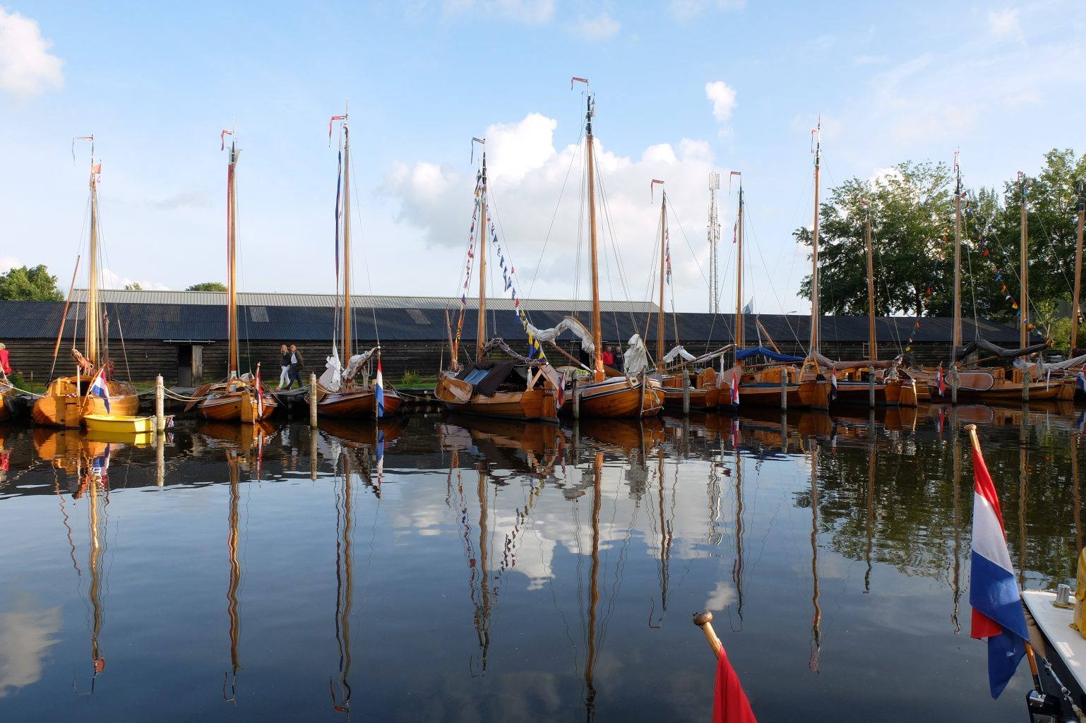 Haven jachtwerf Van der Meulen