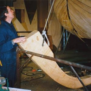 1992-1993 Friso foto 1 Nieuwe stevenbalk-Henry van de Wal