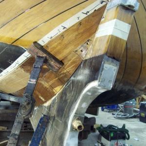 2008 Twee nieuwe gangen aan bb aangebracht en nieuwe schroefkoker gemaakt